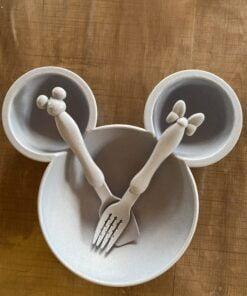 Minnie / Mickey Mouse Bordje Blauw