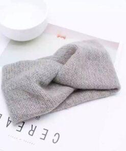 Haarband in wol ( Grijs )