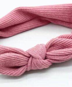 Haarband met ingeweven strik Roze