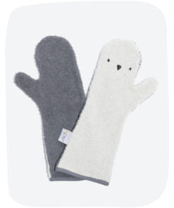Baby Shower Glove Pinguin Licht / Donker