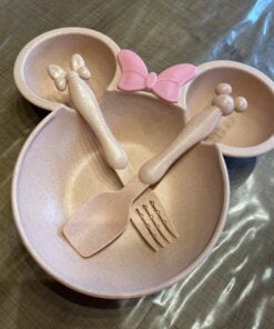 Minnie / Mickey Mouse Bordje Roze