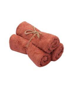 Guest Towel ( set of 3 ) Apricot Blush