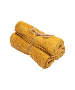 Guest Towel ( set of 3 ) Ochre