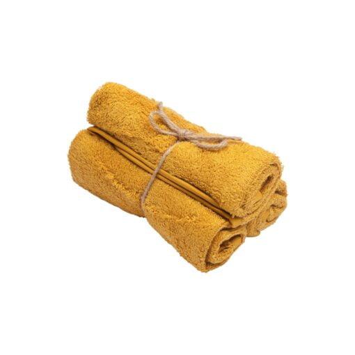 Guest Towel ( set of 3 ) Ochre