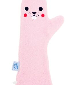 Shower Glove Bever Roze