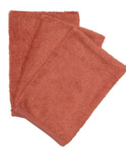 Washandjes ( set of 3 ) Apricot Blush